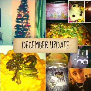 december update collage