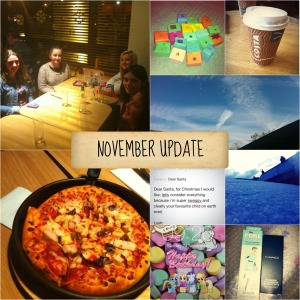 november update collage