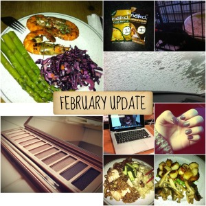 february update collage