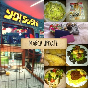 march update collage